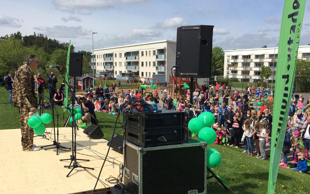 Söderköpings nya lekplats Djungelkullen