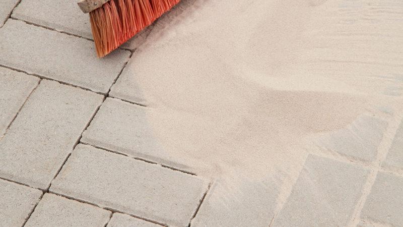 Dags för sandupptagning
